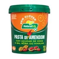 Pasta de amendoim com açucar de coco e sal Himalaia sem gluten Kodilar 450g
