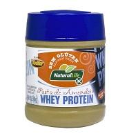 Pasta de amendoim com Whey Protein sem glúten Natural Life 300g