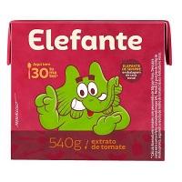 Extrato de tomate Elefante tetra pak 540g