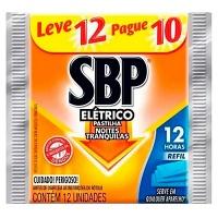Repelente SBP pastilhas 12 horas refil (12 unid.)