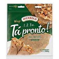 Pão integral tipo tortilha Tá Pronto Wickbold 300g