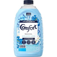 Amaciante Comfort diluído Explosão Azul (tradicional) Comfort 1,8lts