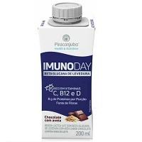 Bebida láctea Imunoday chocolate e aveia Piracanjuba 200ml