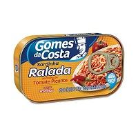 Sardinha ralada ao molho de tomate picante Gomes da Costa 100g