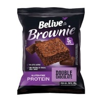 Brownie sabor Double Chocolate Protein Belive 40g