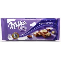 Chocolate mesclado ao leite e branco Milka Happy Cows 100g