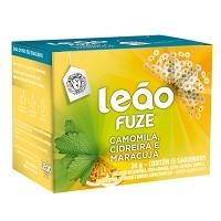 Chá de camomila, cidreira e maracujá Leão Fuze 24g