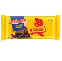 Chocolate ao leite com amendoim Garoto 90g