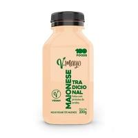 Maionese vegana tradicional V-Mayo 100 Foods 200g