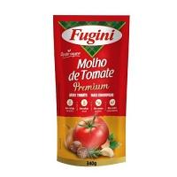 Molho de tomate Premium Fugini sachê 340g