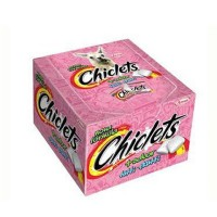 Chiclets tutti frutti Adams 100x1