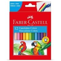 Canetinha hidrográfica Faber Castell 12 cores