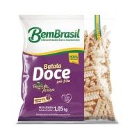 Batata doce pré frita Bem Brasil 1,05kg