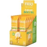 Barra de cereais banana aveia e mel Trio 240g (12 unidades)