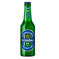 Cerveja Heineken 0,0% Álcool Long Neck 330ml