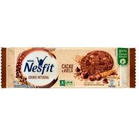 Cookie integral cacau e avelã com gotas de chocolante meio amargo Nesfit Nestlé 60g