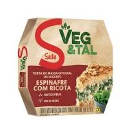 Torta integral de iogurte espinafre com ricota Veg & Tal Sadia 500g
