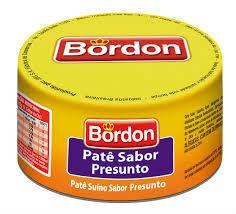 Patê sabor presunto Bordon  100g.