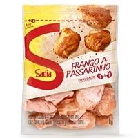 Frango a passarinho congelado Sadia 1kg.