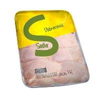 Sobrecoxa de frango congelado Sadia 1kg