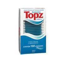 Hastes flexíveis Cotonetes Topz 75 unidades