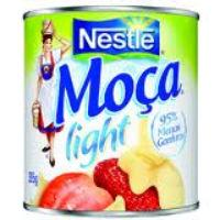 Leite condensado Moça light Nestle 410g.