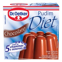 Pudim diet chocolate Oetker 30g