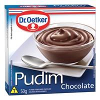 Pudim de chocolate Dr. Oetker 50g.