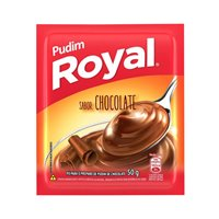 Pudim de chocolate Royal 50g.