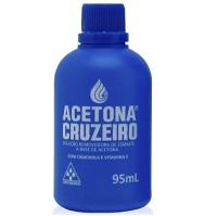 Acetona Cruzeiro 95ml.
