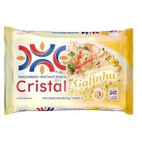 Macarrão instantâneo galinha Cristal 85g.