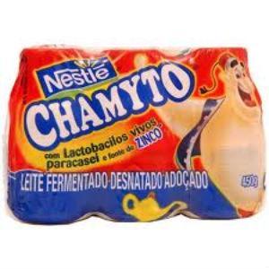 Leite fermentado Nestlé Chamyto (pack c/ 6 unid.) 450g.