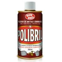 Polidor de metais líquido Polibril metais cromados 200ml.