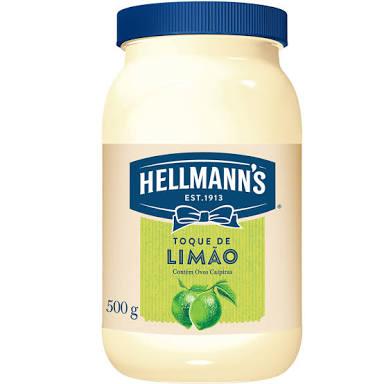 Maionese Hellmanns sabor limão 500 ml