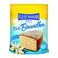 Mistura para bolo de baunilha Fleischmann 450g.