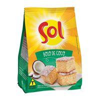 Mistura para bolo de coco Sol 400g.