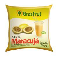 Polpa de maracujá Brasfrut 100 gr.