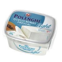Queijo minas frescal Polenghi light 400g.