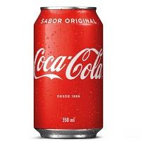 Coca Cola lata 350ml.