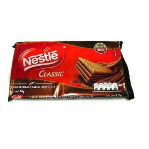 Biscoito wafer Classic Nestlé 110g.