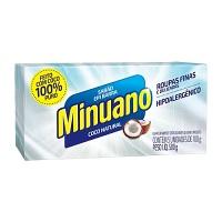 Sabão em barra puro coco Minuano 500g.
