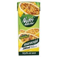 Suco pronto de maracujá Nutri Néctar 200ml.