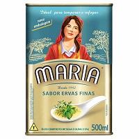 Óleo composto sabor ervas finas Maria 500ml.