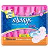 Absorventes Pink proteçao total cobertura suave com abas Always