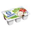 Iogurte cremoso com polpas de frutas 3 Morango , 2 coco Batavo  540g