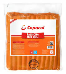 Salsicha hot dog Copacol 3kg