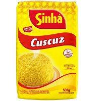 Flocos de milho para Cuscuz Sinhá 500g.
