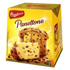 Panettone frutas Bauducco 500g.