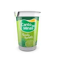 Iogurte Canto de Minas limão e hortelã 180g.