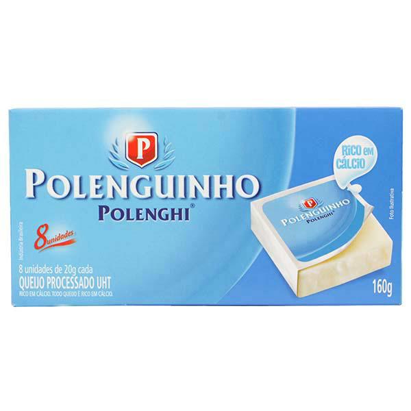 Queijo Polenguinho Polenghi Snack tradicional 136g.